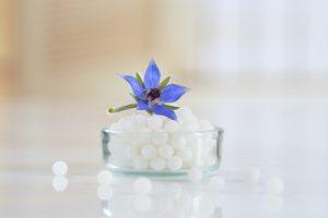 Homeopathy pellets and vials