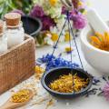 mortar and pestle flowers