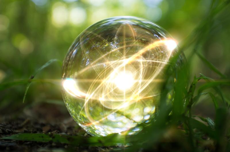 Energy ball green