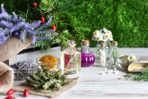 Herbs and homeopathy